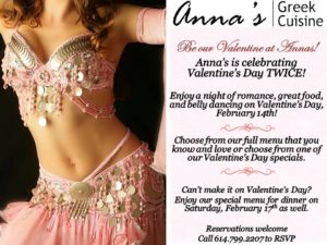 Celebrate Valentines with Anna